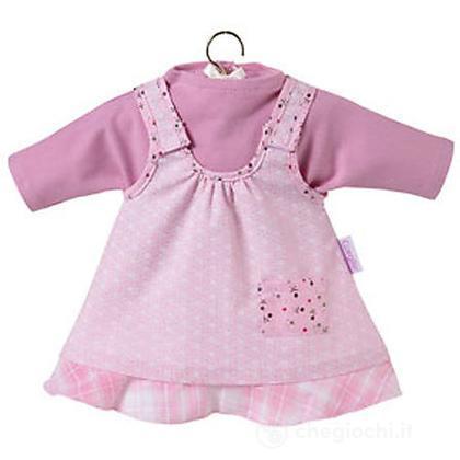 Vestito rosa & mirtillo piccolo
