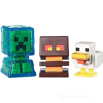 Minecraft 3 personaggi serie 2 (CKH36)