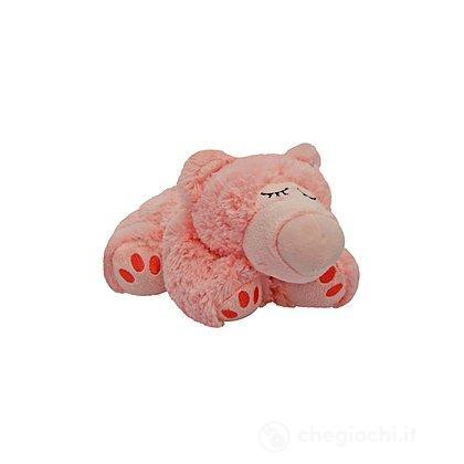 Orso Rosa Peluche Termico