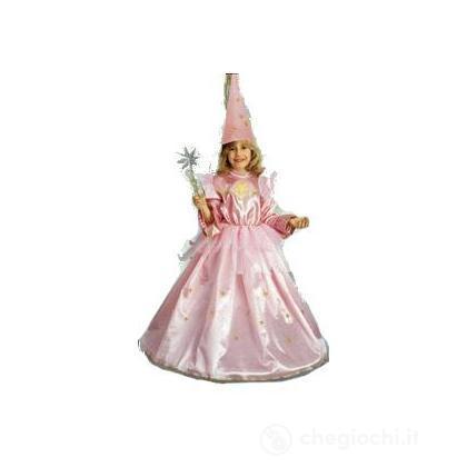 Costume Fatina rosa grande