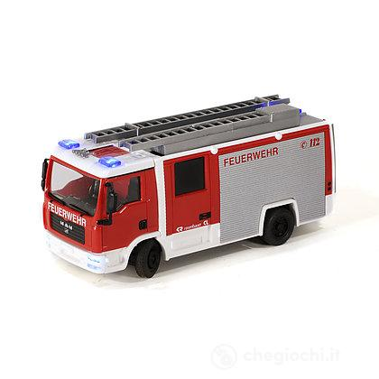 Radiocomandato Camion Pompieri Lf10/6 con Scala 1:87 (7424)