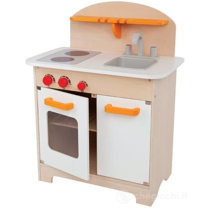 Cucina bianca da chef (E3100)