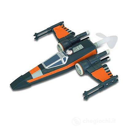 Star Wars Astronave Volante X-Wing con Kit per Gancio a Soffitto