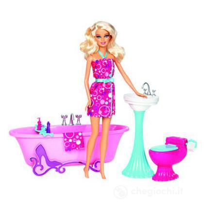 Barbie Glam Bagno - Barbie e i suoi arredamenti (Y2856)