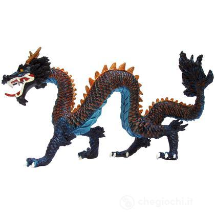 Drago cinese blu
