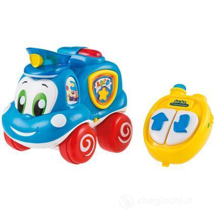 Mattia Auto della Polizia
