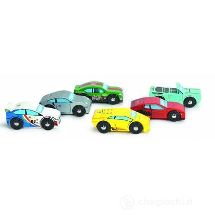 Set 6 auto sportive Montecarlo (TV440)