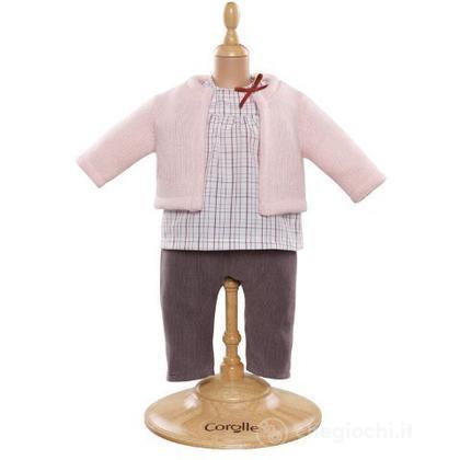 Camicia & Cardigan & Pantalone (Y5459)