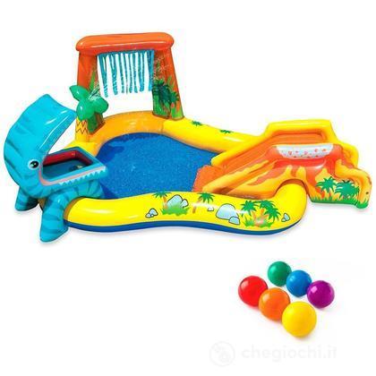 Piscina Playground con scivolo (57444)