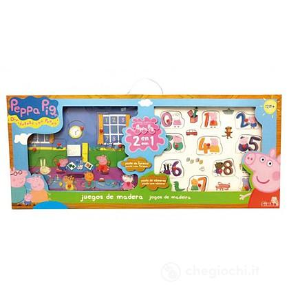 Peppa Pig Set Puzzle Legno (100005077009)