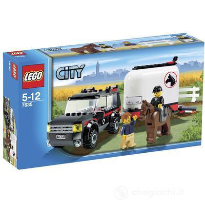 LEGO City - Fuoristrada e rimorchio per cavalli (7635)