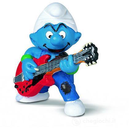 Puffo chitarrista (20449)