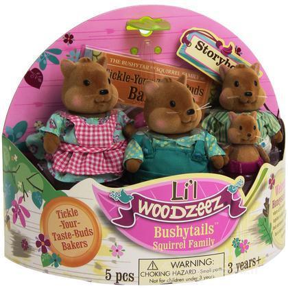 Li'L Woodzeez famiglia Scoiattolo (6008M)