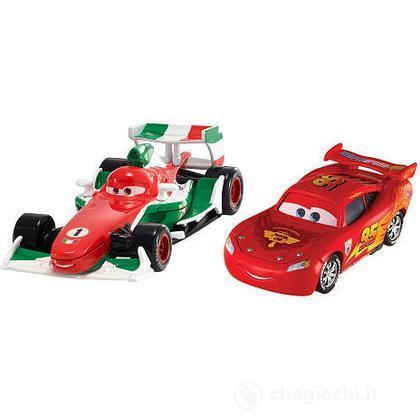 Cars 2 pack - Francesco Bernoulli e Saetta McQueen (V2835)