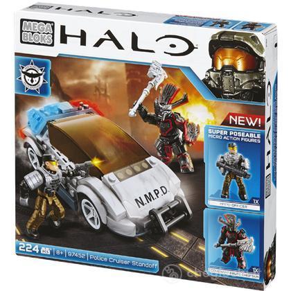 Mega Bloks Halo CRUISER STANDOFF POLIZIA (97452U)