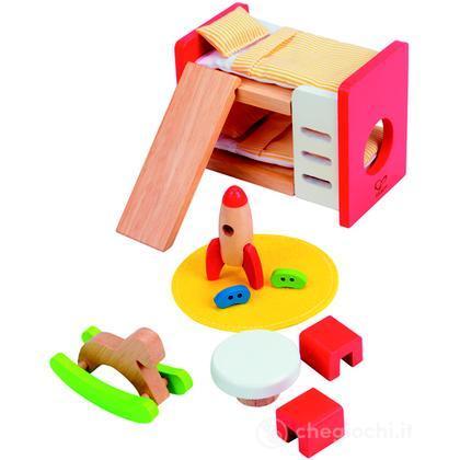 Cameretta dei bambini e3456 casa delle bambole e - Accessori cameretta bambini ...