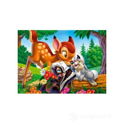Puzzle 104 pezzi animal friends bambi