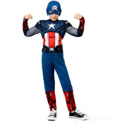 Costume Capitan Hero S (26821)