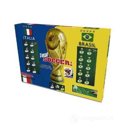 Total Soccer. 2010 FIFA World Cup. Italia - Brasile