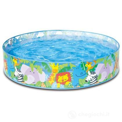 Piscina Baby Clearview Animali Felici cm 122X25 (58474)