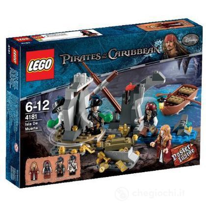 LEGO Pirati dei Caraibi - L'Isola della Morte (4181)