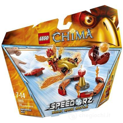 Fossa infernale - Lego Legends of Chima (70155)
