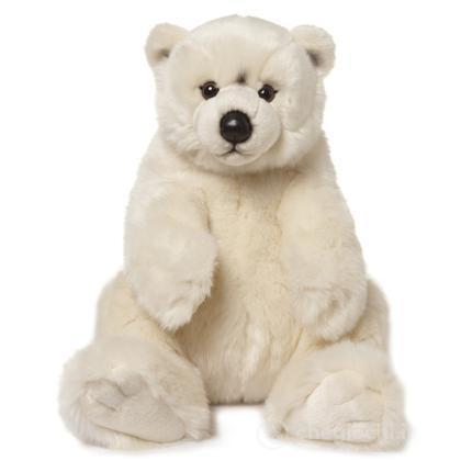 Orso polare seduto grande