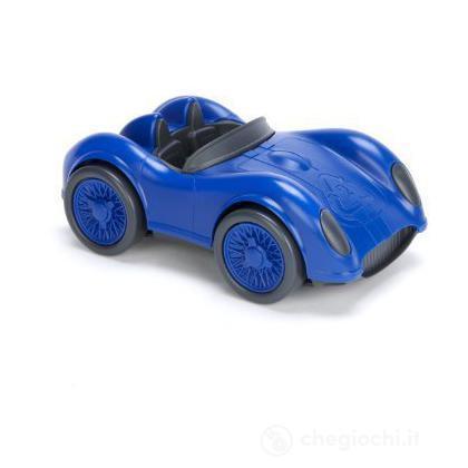 Auto da corsa blu
