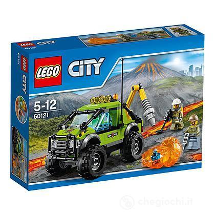 Camion delle esplorazioni vulcanico Lego City Volcano Explorers (60121)