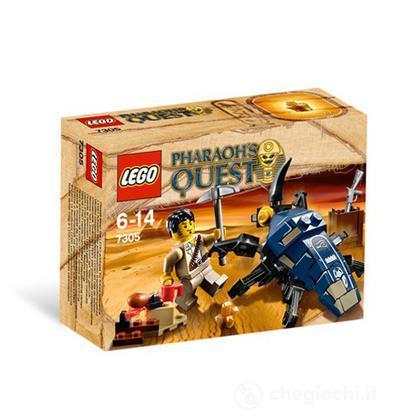 LEGO Pharaohs Quest - L'attacco dello scarabeo (7305)
