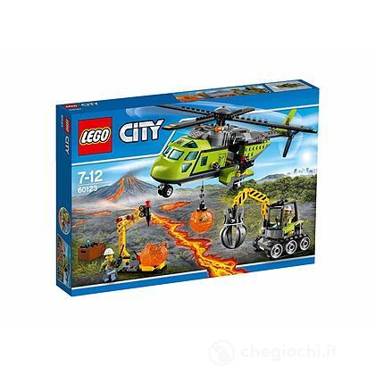 Elicottero dei rifornimenti vulcanico - Lego City Volcano Explorers (60123)