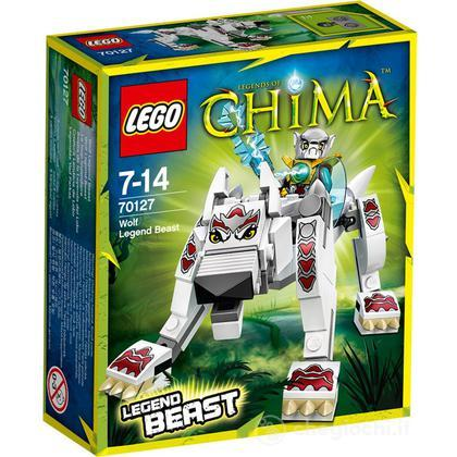 Animale Leggendario Worriz - Lego Legends of Chima (70127)