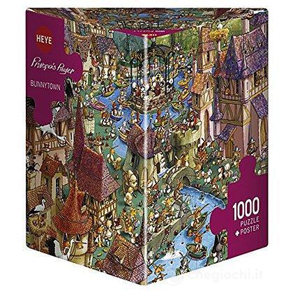 Puzzle 1000 Pezzi Triangolare - Paese dei Conigli