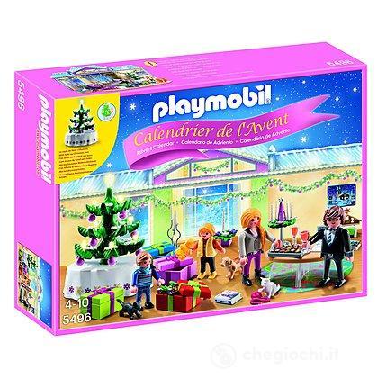Calendario dell'Avvento Stanza di Natale Playmobil (5496)