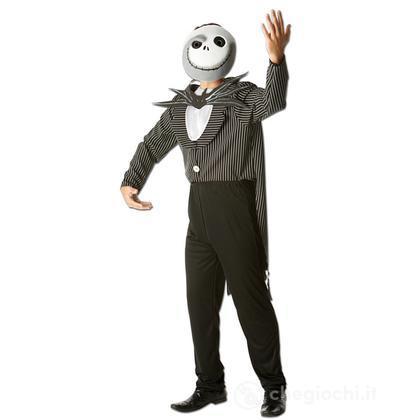 Costume Jack Skellington Nightmare Before Christmas adulto taglia XL 52 (R 880149)