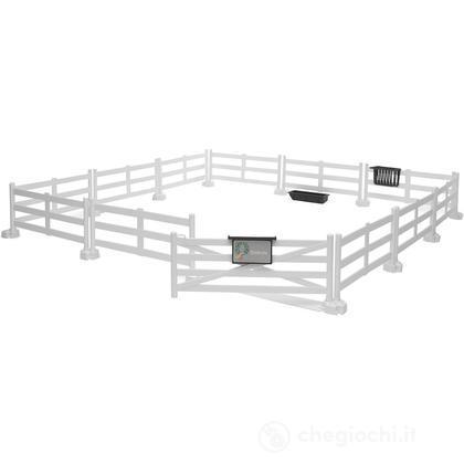 Recinzione cavalli (bianco) (62504)