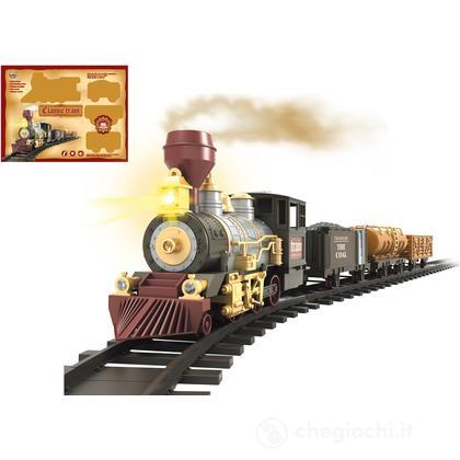 Treno Classico 3 Vagoni con Luci e Suoni (GG51506)