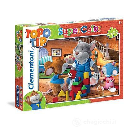 Topo Tip Puzzle 2x20 pezzi (24508)