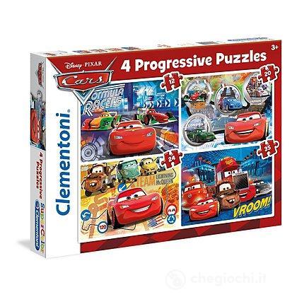 Cars 4 Puzzle Progressivi 12, 20, 24, 35 Pezzi  (21510)