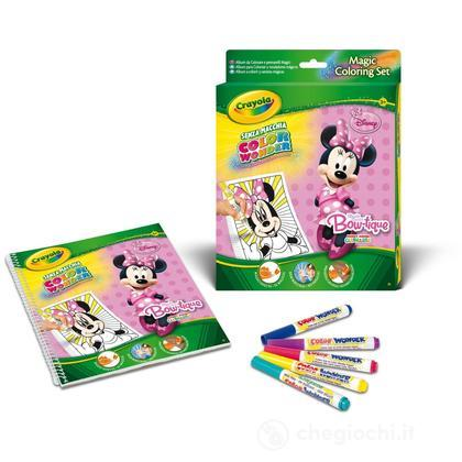 Set Color Wonder Disney Minnie Mouse