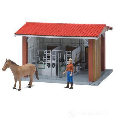 Stalla, personaggio, cavallo con accessori (62520)