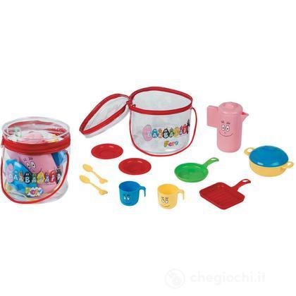 Secchiello con accessori cucina (3520)