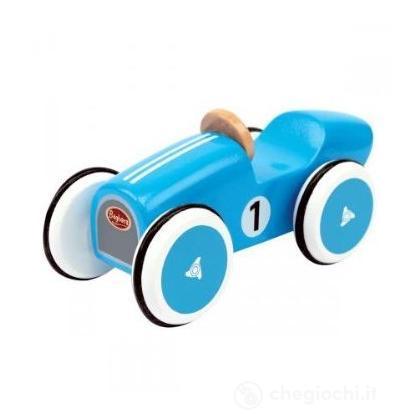 Mini Auto da Corsa Montlhery blu (522)