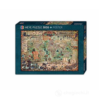 Puzzle 3000 Pezzi - Mondo Pirata