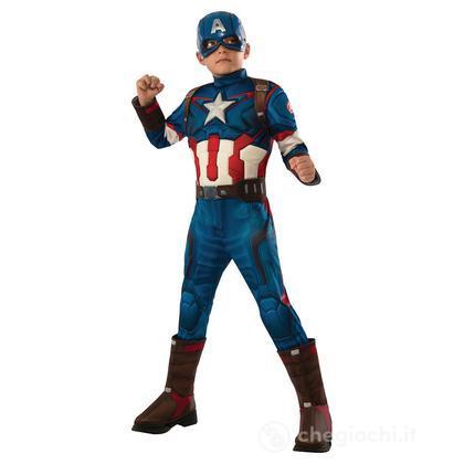 Costume Capitan America Avengers 2 Deluxe S