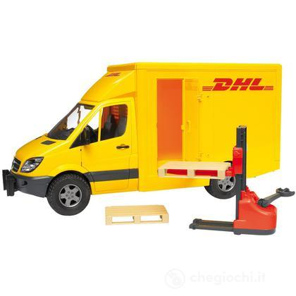 Mercedes Benz Sprinter DHL con transpallet manuale (02534)