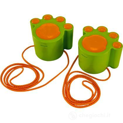 Trampoli zampa di gatto verdi (E4015)