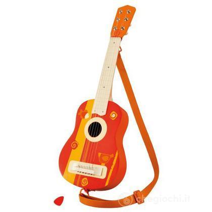 Chitarra acustica con tracolla (82540)