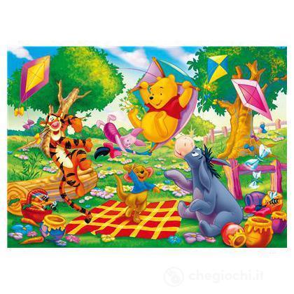 Puzzle 104 pezzi Winnie the Pooh aquiloni