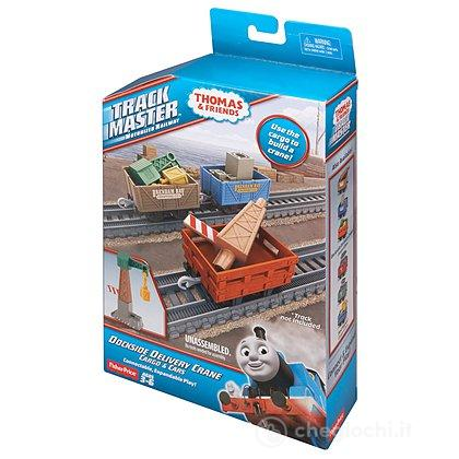 Track Master Dockside Delivery Crane Cargo and Cars Set (BDP01)